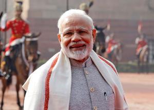 นายนเรนทรา โมดี นายกรัฐมนตรีอินเดีย