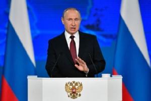 """ปูตินสัญญา """"ชาวรัสเซีย"""" จะมีความเป็นอยู่ที่ดีขึ้นภายในปีนี้"""