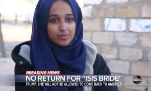 In Clips: ทรัมป์สั่งห้ามผู้หญิงรัฐแอละแบมาวัย 24 ร่วมก่อการร้าย IS กลับเข้าประเทศ