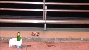 หนุ่มนิรนามซดเบียร์เมาได้ที่โดดสะพานพระราม 7 ฆ่าตัวตาย