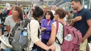 สุวรรณภูมิผู้โดยสารตกค้างอื้อ รอประเมินเช้าจะบินไปโซนยุโรปได้อีกครั้งเมื่อไหร่
