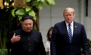 "In Pics: ทำเนียบขาวแถลง  ""ทรัมป์-คิม"" ไม่มีข้อตกลงบรรลุ หลังซัมมิตจบกระทันหัน - พอมเพโอชี้ ""ผู้นำเกาหลีเหนือ"" ไม่ได้เตรียมรับข้อเรียกร้องจากสหรัฐฯ"