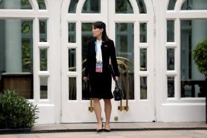 น้องสาวประธานาธิบดีเกาหลีเหนือ