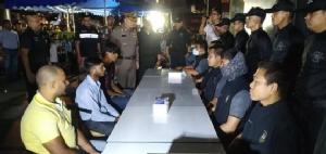 ปิดล้อมตรวจค้นชาวต่างชาติผิวสีครั้งที่ 45 จับผู้ที่อยู่ในไทยโดยผิดกฎหมายได้ 417 ราย
