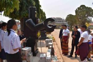 ตะลึง! หุ่นยักษ์ขยะรีไซเคิลนักเรียน ร.ร.กมลาไสยกาฬสินธุ์ รับไทยแลนด์ 4.0