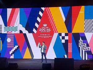 ปี61มี5.3พันล้านข่้อความบนโซเชียล เผยแบรนด์คว้ารางวัลThailand Zocial Awards 2019