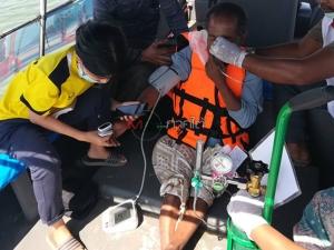ระทึก! เรือทัวร์เบ็ดล่มกลางทะเลสตูล จนท.ช่วยชีวิตลูกเรือได้ 1 คน เร่งตามหาที่เหลือ