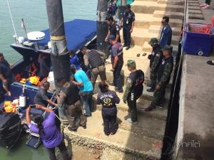ปูพรมค้นหาลูกเรือประมง หลังอับปางกลางทะเลสตูล ล่าสุดพบรอด 7 ดับ 1 สูญหายอีก 1