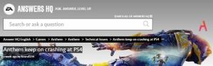 โซนี่ แว่วเสนอคืนเงินผู้ใช้ PS4 กรณีเกม Anthem ทำเครื่องดับ