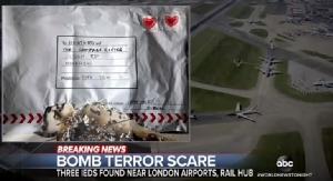 """In Clips: ตำรวจไอร์แลนด์ร่วม """"สกอตแลนยาร์ด"""" สอบ  """"3 พัสดุยัดระเบิด"""" ส่งเข้าสนามบินฮีทโธรว์ -สถานีรถไฟวอเตอร์ลู"""