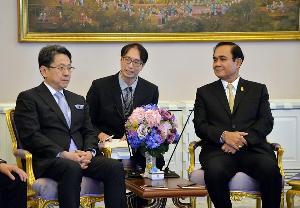 """""""ประยุทธ์"""" ถก ผู้ว่าฯJBIC เผยญี่ปุ่น-จีนสนใจร่วมลงทุนEEC"""