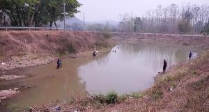 """""""เสริมงาม"""" เริ่มเจอวิกฤตแล้ง แหล่งน้ำดิบแห้ง-รพ.มีประปาใช้อีกแค่ 10 กว่าวัน"""