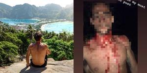 ฝรั่งหนุ่มถูกทำร้ายยับบนเกาะพีพี เหตุเข้าช่วยสาวหลังโดนขโมยกระเป๋าตังค์