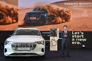 เปิดขาย Audi อี-ตรอน SUV ไฟฟ้า ครั้งแรกในไทย ราคา 5.099 ล้านบาท