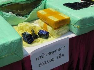 ตำรวจภาค 1 จับยาบ้าเครือข่ายสุพรรณบุรี-ลพบุรี ได้ของกลางจำนวนมาก