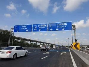 เสร็จซะที! 16 มี.ค.นี้ เปิดใช้สะพานแยกทับช้าง คลายจราจรบนมอเตอร์เวย์