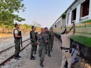 ของขึ้น! แม่ทัพ 4 สั่งทุกหน่วยไล่ล่าโจรใต้ก่อเหตุยิงขบวนรถไฟสุไหงโก-ลก-ยะลา
