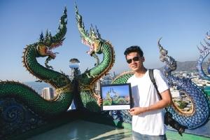 """งดงามจับใจ """"พญานาคชมเมือง"""" ชนะเลิศภาพถ่ายโครงการ """"Chonburi Bucket List ทริปถ่ายภาพ"""""""
