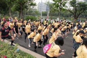 สภากาชาดไทย รวมพลสะสมระยะวิ่ง 500,000 กม. พิชิตยอดเงินบริจาค 2 ล้านบาท