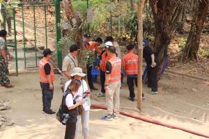 """""""ถ้ำหลวง"""" ทรายยังเต็ม ทับอุปกรณ์กู้ภัยช่วย 13 หมูป่าฯ หนากว่า 1.5 เมตร"""