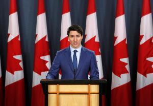 นายกรัฐมนตรีจัสติน ทรูโด ของแคนาดา