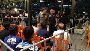 ปิดล้อมตรวจค้นชาวผิวสี ครั้งที่ 32 จับผู้อยู่ในไทยโดยผิดกฎหมายได้ 490 ราย