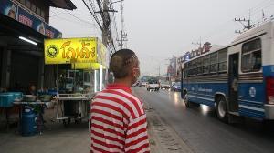 ทนไม่ไหว หนุ่มเชียงใหม่แกะลายผมหยุดวิกฤต PM 2.5 เดินโชว์เรียกร้องเชิงสัญลักษณ์