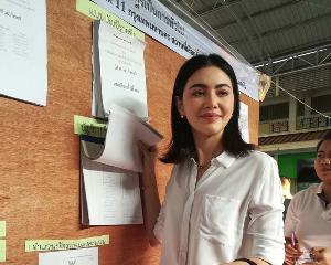 """""""พี่เบิร์ด"""" มาแล้ว เลือกตั้งขอประเทศไทย เฮงๆ ได้ผู้นำใจกว้าง รักสามัคคี"""