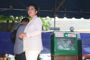 """""""หญิงหน่อย"""" ยินดีคนไทยตื่นตัวไปโหวต เอาใจช่วย กกต.ดูแลเลือกตั้งปราศจากโกง"""