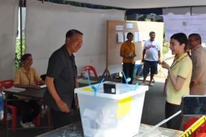 """""""บัญญัติ"""" เรียกร้องให้ประชาชนออกมาใช้สิทธิเลือกตั้งเพื่อชี้อนาคตการเมืองไทย"""