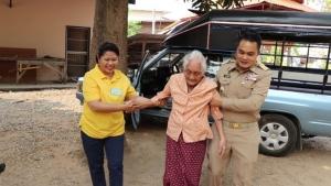 คุณยายชาววังสะพุงวัย 96 ปีลั่น มีเลือกตั้งอีกก็จะใช้สิทธิอีก
