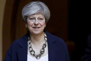 นายกรัฐมนตรีเทเรซ่า เมย์ แห่งอังกฤษ