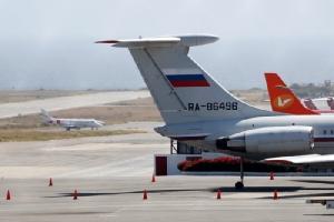 สื่อหมีขาวยืนยันเอง เครื่องบินทหารรัสเซียลงจอดที่เมืองหลวงเวเนฯ  ข่าวระบุขนกำลังพลนับร้อย-อุปกรณ์35ตัน