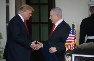 อวยสุดลิ่ม! ผู้นำยิวยก 'ทรัมป์' ยิ่งใหญ่เทียบชั้น 'ทรูแมน-กษัตริย์เปอร์เซีย' หลังประกาศรับรอง 'ที่ราบสูงโกลัน' เป็นของอิสราเอล