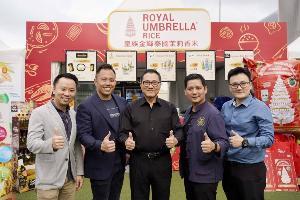 ข้าวตราฉัตรผงาดตลาดโลก ร่วมงาน Taste of Hong Kong 2019