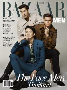 """""""BAZAAR MEN""""ฉลองครบรอบ12ปี จัดเต็ม 3 ปก 3 สไตล์ เต็มอิ่มแฟชั่นสุดเอ็กซ์คลูซีฟพร้อมสัมภาษณ์พิเศษหนุ่มฮอตแห่งปี"""