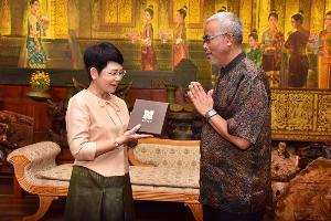 SACICT ส่งเสริมและพัฒนาความรู้หัตถศิลป์ ไทย-ลาว โครงการ Cross Cultural Crafts 2019