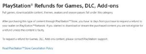 โซนี่ ปรับกฎ Refund เกมมีปัญหา คืนเงินได้ภายใน 14 วัน