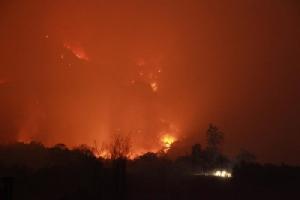 สถานการณ์ไฟป่าในพื้นที่ 9 จังหวัดภาคเหนือที่รุนแรง