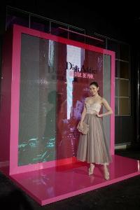 """""""เบลล่า"""" กระทบไหล่ """"คาร่า"""" งาน Be Dior Be Pink in Korea"""