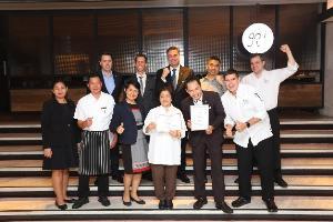 โกจิ คิทเช่น + บาร์ ร้านอาหารในโรงแรมห้าดาวแห่งแรกของโลกที่ได้การรับรองจาก The Pledge ในด้านการกำจัดขยะอาหาร
