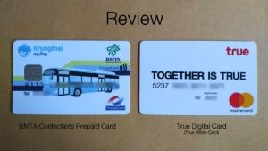 "Review : บัตร ขสมก.เตรียมพร้อม ""รถเมล์ไร้เงินสด"" | True Digital Card รูดปรื๊ดได้ทรูพอยท์"