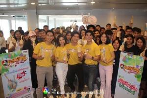 """ทัพดาราร่วมกิจกรรม """"7HD รักษ์ประเพณีปีใหม่ไทย"""""""
