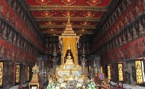 พระพุทธสิหิงค์ กรุงเทพฯ ประดิษฐานอยู่ที่พระที่นั่งพระพุทไธสวรรค์