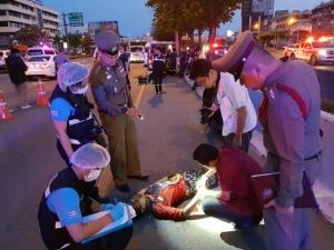ตร.เร่งคลี่คดีแก๊งแว้นถูกยิงดับ เจ็บอีก 2 บนถนนกาญจนาภิเษก