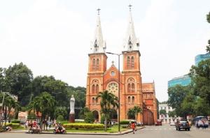 โบสถ์นอร์ทเธอดาม เมืองโฮจิมินห์