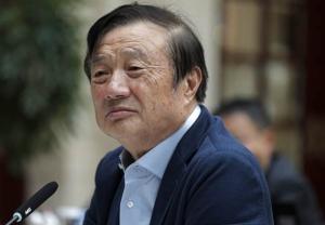 """""""เหริน เจิ้งเฟย"""" ผู้ก่อตั้งหัวเว่ย ขึ้นแท่นผู้นำธุรกิจจีนผู้ทรงอิทธิพลที่สุด"""