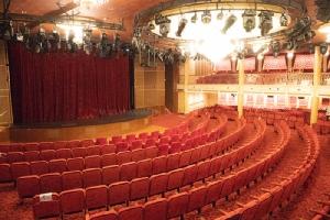 ภายในโรงละคร Teatro Rosso