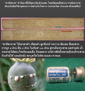 ปัญหาความไม่เท่าเทียมกัน แพทย์แผนปัจจุบันใช้มอร์ฟีนได้ แต่ทำไมแพทย์แผนไทยใช้ฝิ่นไม่ได้?/ปานเทพ พัวพงษ์พันธ์