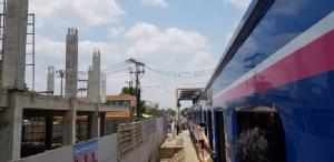 ร.ฟ.ท.ทดลองเดินรถไฟสายประวัติศาสตร์ไทย-กัมพูชาเที่ยวปฐมฤกษ์ เสมือนจริง